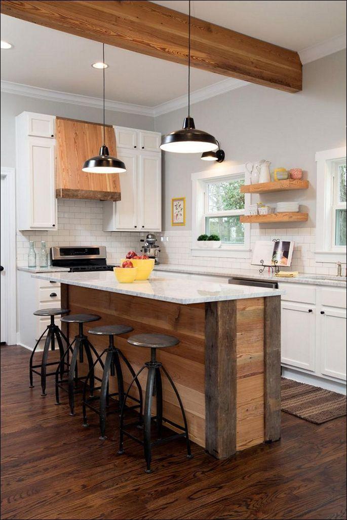 48 Amazing spacesaving small kitchen island designs
