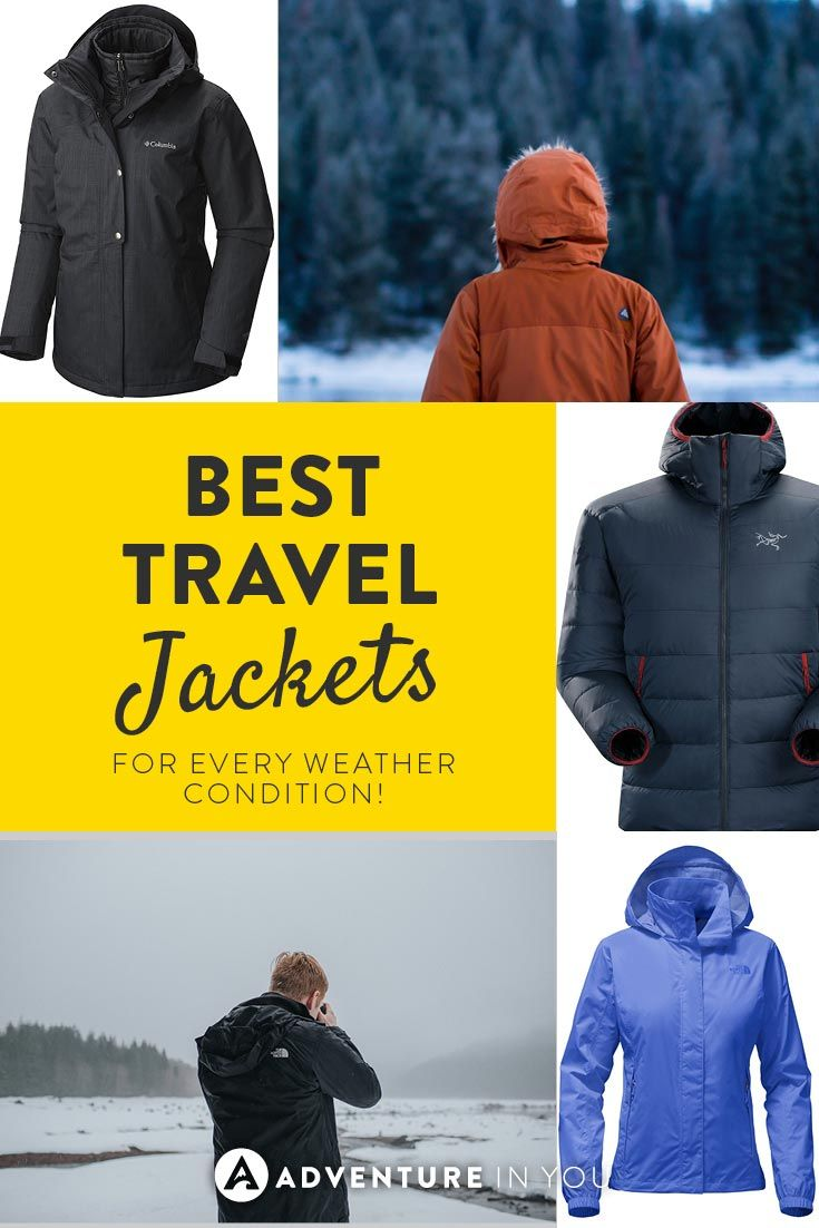 Travel Jackets | Looking for the best travel jackets? Here are a couple of our top picks for all around gear perfect for every type of weather. These jackets are lightweight and perfect for traveling or any type of adventure.