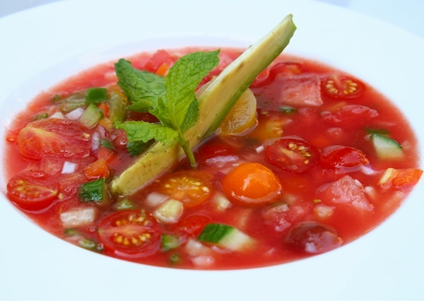 ... watermelon desserts on Pinterest | Gazpacho, Watermelon and Gazpacho