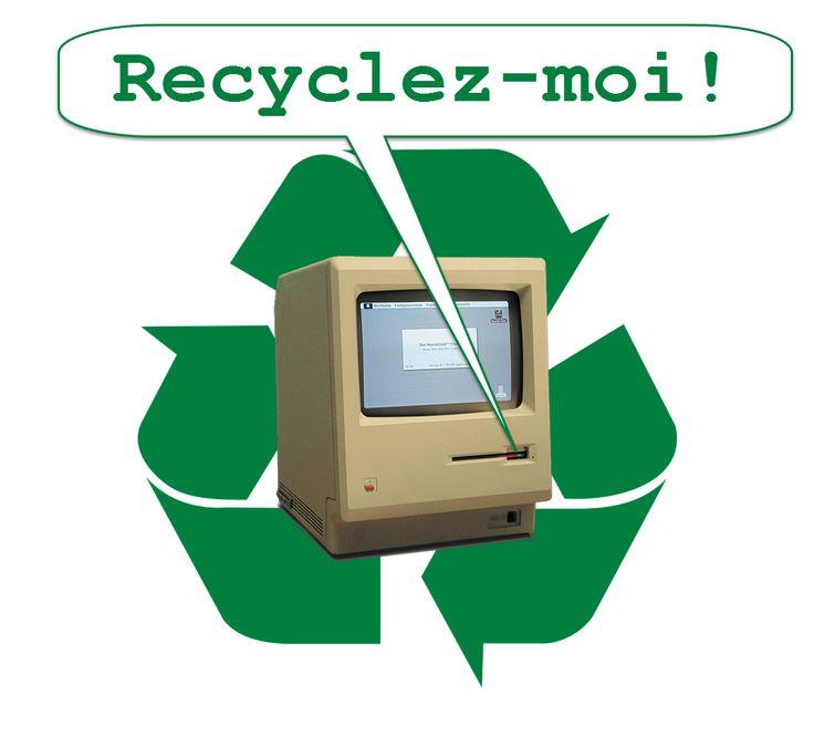 Recyclage informatique et électronique