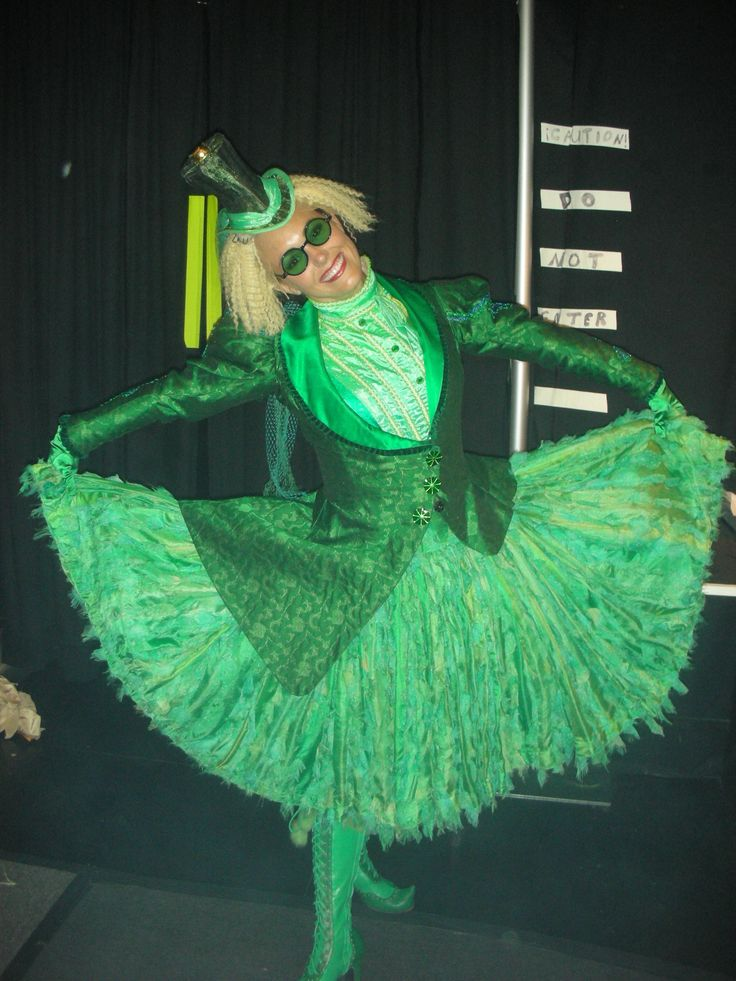 """broadway wicked costumes   My Oz costume, for """"One Short Day' and the opening of the 2nd act ..."""
