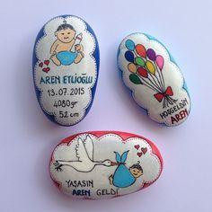 Bunlar da Aren Bebek için... Hoşgeldin Aren. Sağlıklı mutlu upuzun bir ömrün olsun