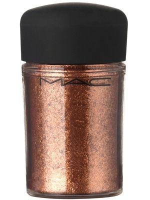 M.A.C. Cosmetics Pigment in Copper Sparkle.