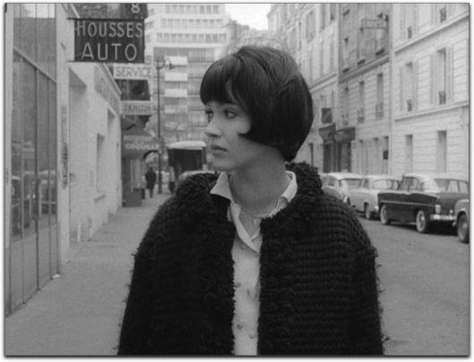 """Jean-Luc Godard's ,""""Vivre Sa Vie,"""" 1962, Anna Karina"""