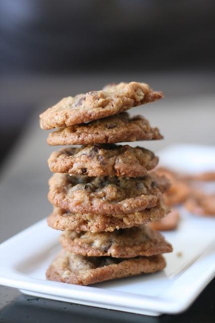 Pretzel Toffee CookiesToffe Cookies, Crispy Bit, Menu, Cookies Recipe, Pretzels Cookies, Toffee Cookies, Single Cookies, Pretzels Toffee, Cookies Crispy