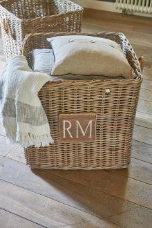 Coming Soon   Rivièra Maison Rustic Rattan Square Basket S/3 voor boven om spullen in te doen