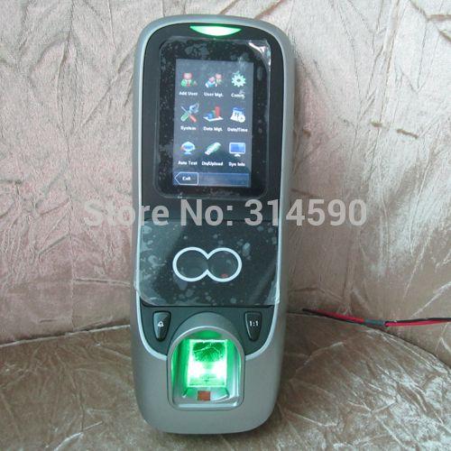 Zk iface7フェイシャル&指紋時間出席アクセス制御zk multibio700顔認識のアクセス制御