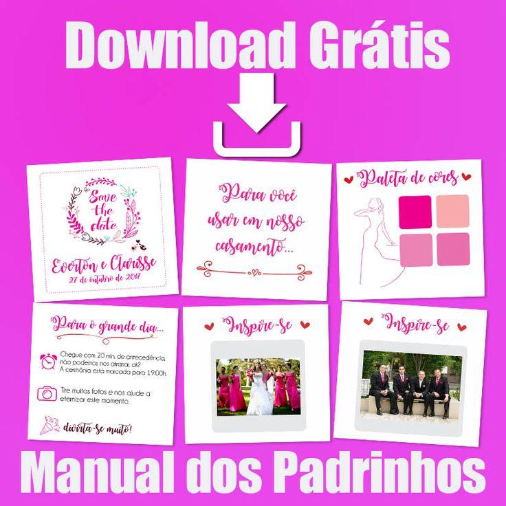 Download manual dos padrinhos cor marsala - baixe grátis manual dos padrinhos para impressão, arquivo editável paleta de cores e textos, imprimir manual