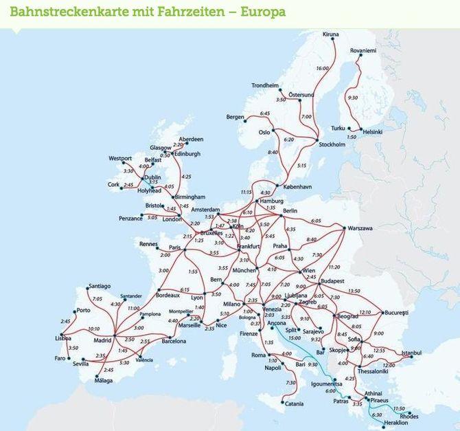 Jetzt 10 Auf Interrail Passe Fur Den Sommer Sparen Zug Karte