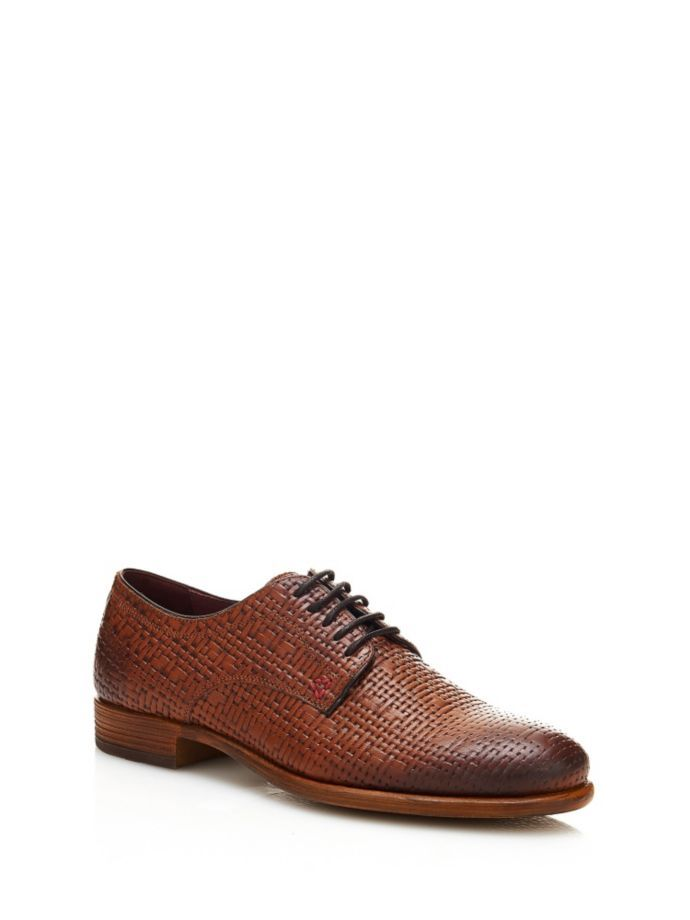 EUR125.00$  Watch now - http://viayk.justgood.pw/vig/item.php?t=fza7gsm39856 - JACKSON BRAIDED LACE-UP SHOE