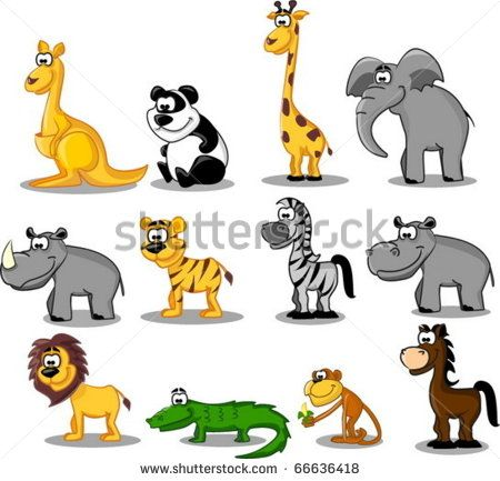 extra large set animals