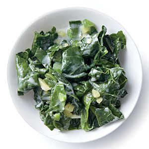 Wilted Kale with Coconut, Ginger, and Lime | CookingLight.com #myplate #vegetables