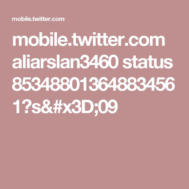 mobile.twitter.com aliarslan3460 status 853488013648834561?s=09