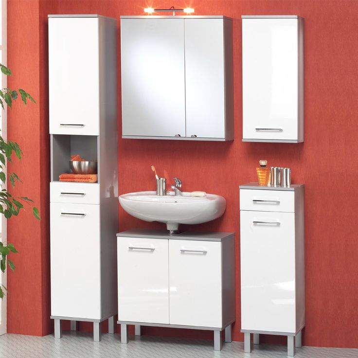 Die besten 25+ Badezimmer hochschrank Ideen auf Pinterest Ikea - hochglanz kuchen badmobel mobalpa