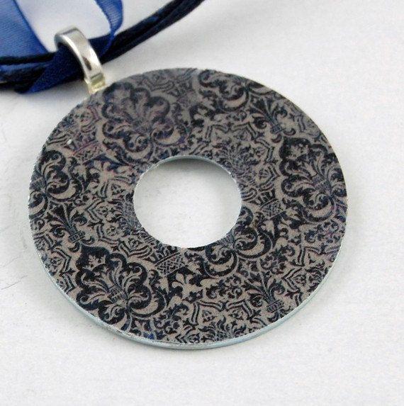 Handmade Upcycled Washer Necklace  Vintage от VintageDandelion, $9.00