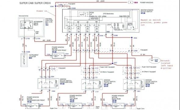 1997 Ford Econoline Conversion Van Radio Wiring Diagrams