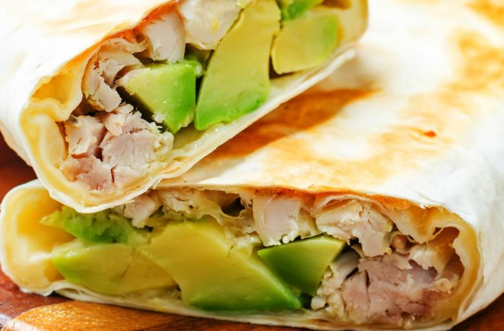 Burrito cu pui și avocado   Retete culinare - Romanesti si din Bucataria internationala