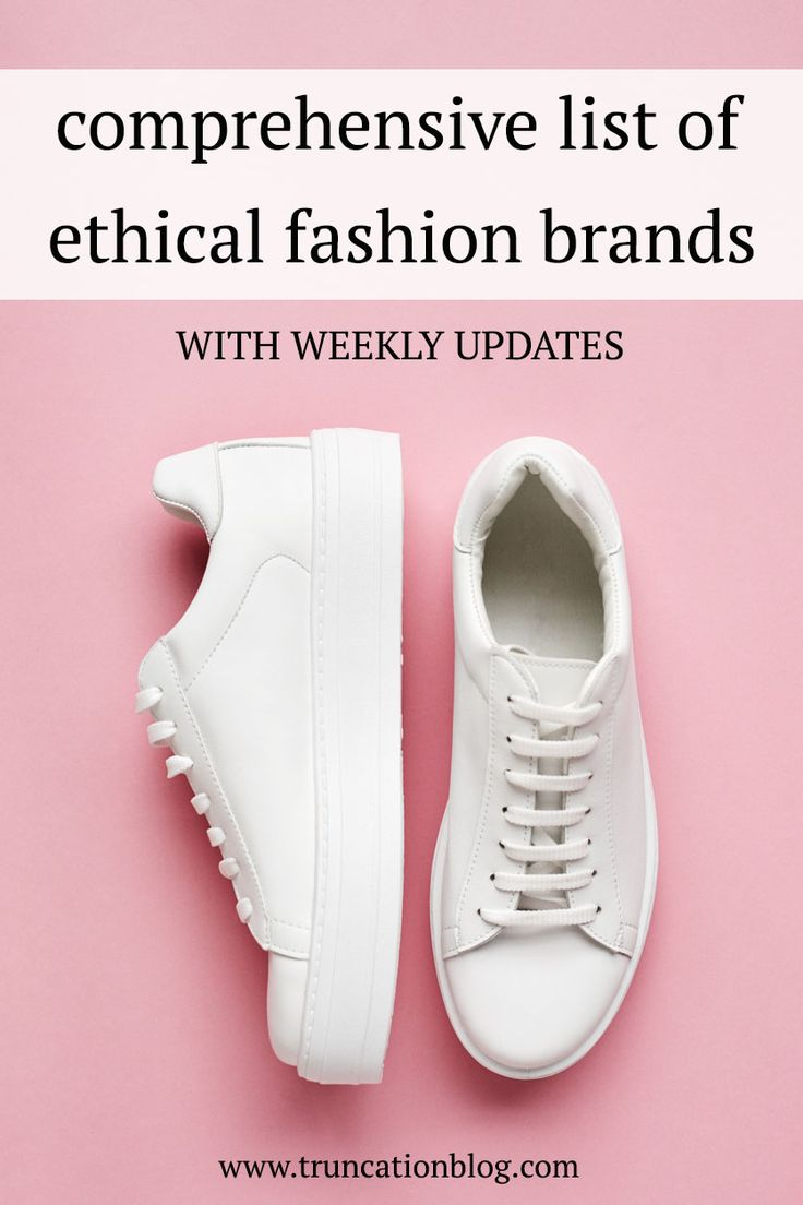 Super comprehensive list of ethical brands with weekly updates. Every week I feature three new brands that then get added to the list. #ethicalfashion