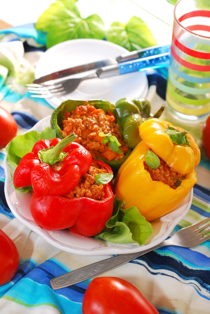 Creative Main Dish Recipe: Beef-Stuffed Bell Peppers