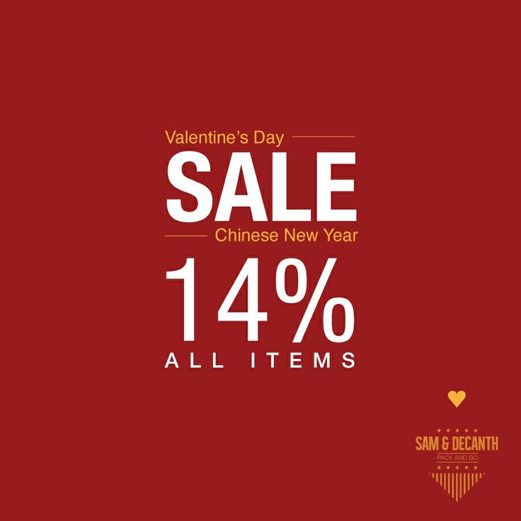 We are all welcoming February with a lot of excitement, the month of love ! Valentine's Day and Chinese New Year are coming soon !  So that, to celebrate so much love from us to you peeps, we are giving 14% discount all items to all of you.   Are you looking for something to your loved ones ?? You can grabs any products in our webstore www.samdecanth.com   #samdecanth #packandgo