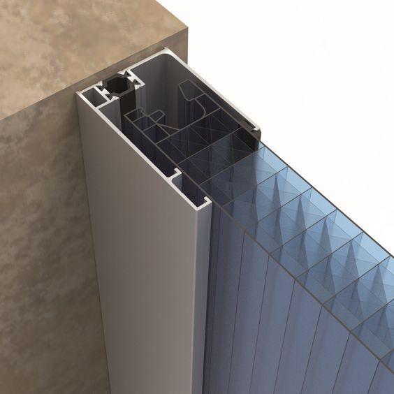 Interlocking polycarbonate system for traslucent facades arcoPlus®549 - Dott. Gallina 11 / 14: