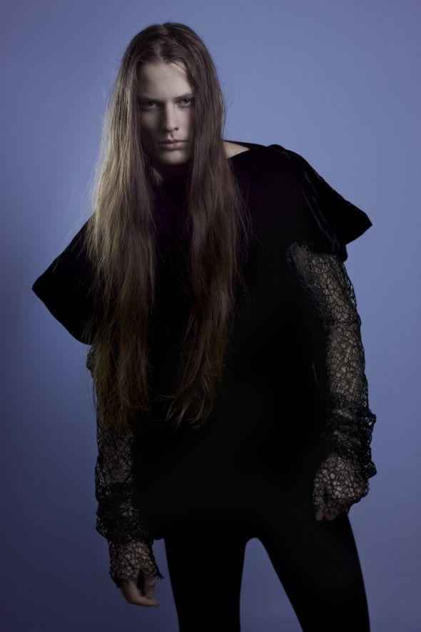 Brazilian male model Lucas Kittel (guys, long hair ...