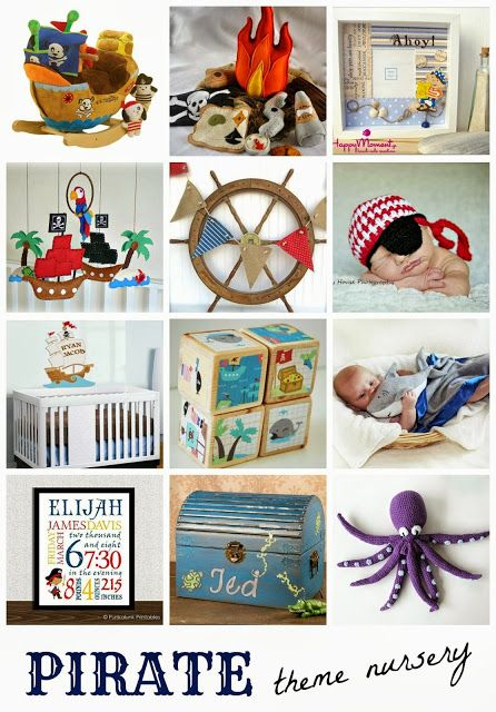 Pirate Nursery Theme Blog Post