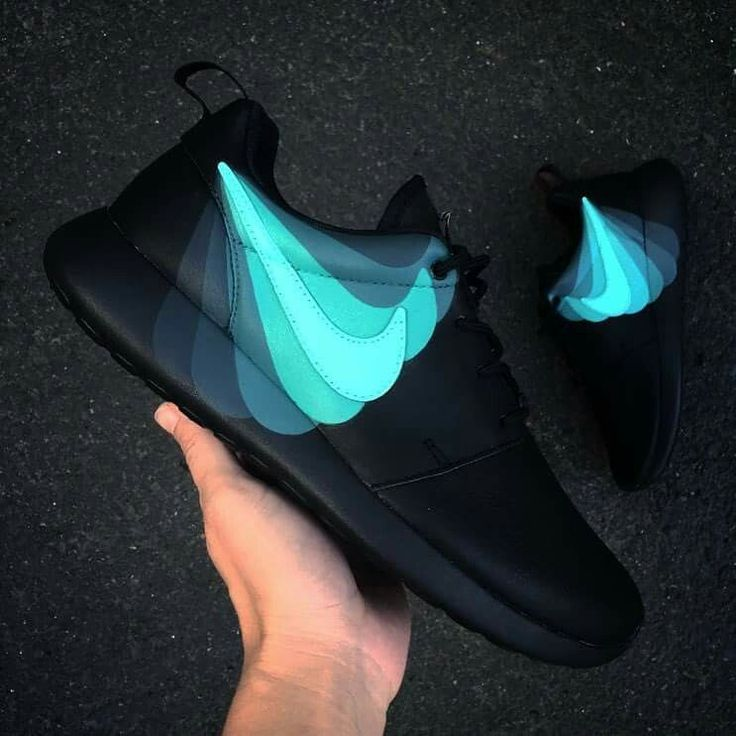 Black Nike Running Shoes Womens Sport Checks