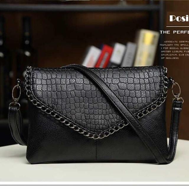 Vogue Star Women clutch women messenger bags chain bag leather handbag high quality evening bag women's pouch purse YB40-402
