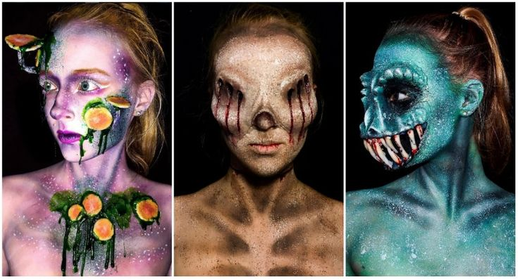 """A photo posted by Lara wirth (@armageddonpainted) on May 8, 2016 at 3:58am PDT    Here are some really impressive body painting skills by 16-year-old Melbourne-based artist Lara Wirth. On Wirth's Instagram page, she's described as a self-taught body painter and a """"dedicated procrastorpainter.""""  It's hard to believe looking at these images that Wirth has had no formal training. She's truly gifted to say the least.     A photo posted by Lara wirth (@armageddonpainted) on May 9, 2016 at…"""