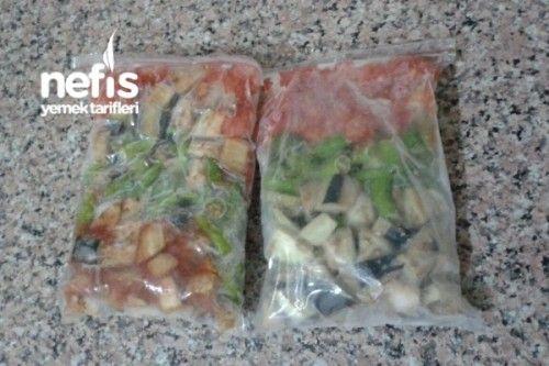 Dondurucuda Kışlık Patlıcan Kızartmadan Tarifi
