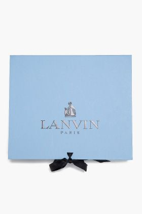 "Lanvin - don't know what's in the box, so it gets filed under ""Accessories""."