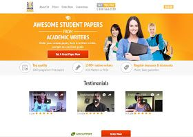 Grademiners is an academic writing service launched in 2013. Assisting students from all major English-speaking countries with works of different levels: high-school essays (review, persuasive, argumentative essays, research papers, etc.), college and university papers.