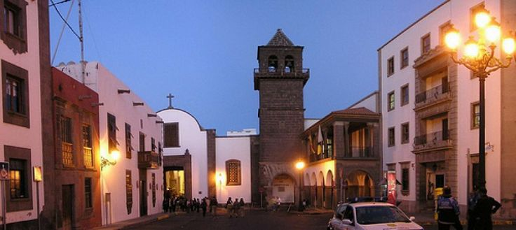 Iglesia San Agustin - Plaza de la Audiencia - Barrio de Vegueta - Las Palmas de Gran Canaria