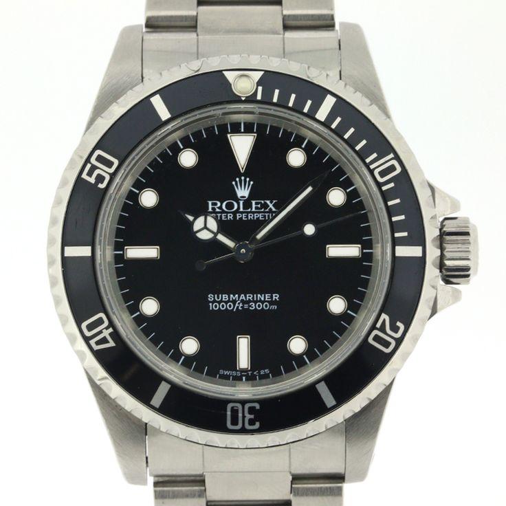 【商品名】ロレックス(ROLEX) 14060 サブマリーナ オートマチック SS メンズ ブラック 時計【価格】¥598,000【状態】A  多少の傷・汚れが見受けられますが全体的には綺麗な状態の中古商品です。【素材】SS