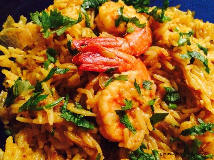 Yield: 4 Prep Time: 15 minutes Cook Time: 30 minutes Print Prawn Pulao in Coconut Milk By YourCookingPal September 28, 2015 Prawn Pulao is not only easy to make but simply yummy and delicious. The prawn adds a special flavour to the rice while the coconut milk adds a creamy texture to the taste buds. Ingredients For the Prawn Gravy …