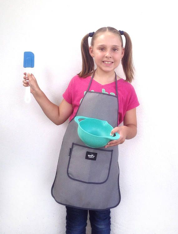 Apron for Child Cooking Accessories Kiddies Apron for