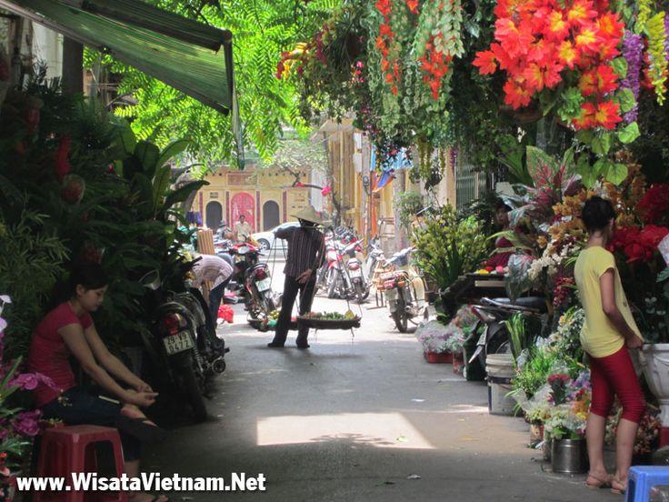Hanoi kota tua di Vietnam