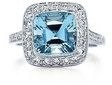 Tiffany Legacy Collection Aquamarine $7,800. My dream ring. -- Someday I will get you the ring you want. Hopefully soon. But there are probably other things you would rather have: Another wedding band, trip to tahiti, redo oir front yard, another car, decorate our house, 78 massages, etc.