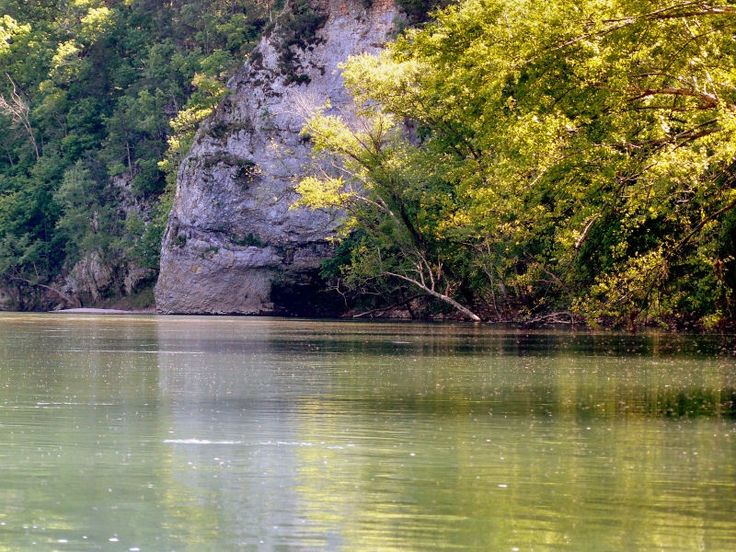 Elephant Rock Illinois River Near Tahlequah