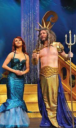 The Little Mermaid Costume & Backdrop Rentals