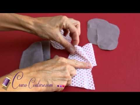 cours de couture - apprendre à coudre des chaussons pour bébé - Tuto de couture