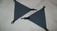How to make DIY camping hammock suspension triangles for attaching an underquilt