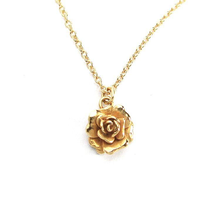 Alex Monroe | Classics | Rosa Damasca Necklace