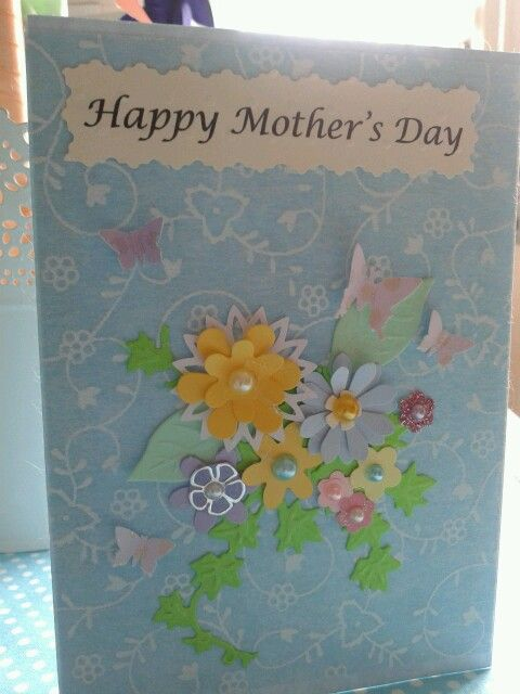 Card for my Mum. Personalized cards £5.00 plus p&p