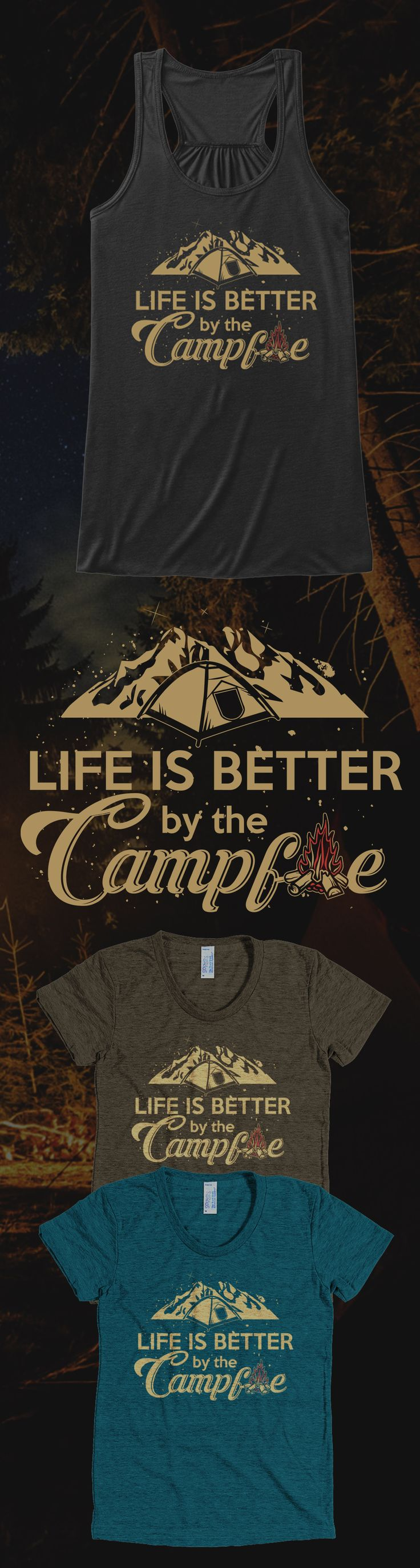 Love camping? Check out this awesome camping t-shirt you will not find anywhere else. Not sold in stores and Buy 2 or more, save on shipping! Grab yours or gift it to a friend, you will both love it