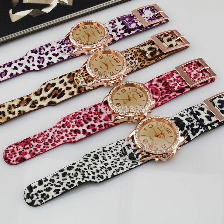 Дешевое Мода женщин наручные часы леопарда ремень дамы наручные часы подарок BS88, Купить Качество Fashion Watches непосредственно из китайских фирмах-поставщиках:   Женская мода наручные красочные леопардовый ремешок женские наручные часы подарок BS88         Спецификация     :  ДЕТ
