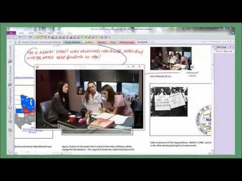 Whitfield School and OneNote in the classroom