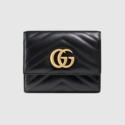b83328eb9e5f GG Marmont matelassé wallet | Small Leather Goods ❤ | Gucci wallet, Wallet,  Leather wallet