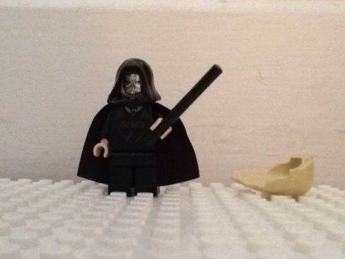 LEGO * Lucius Malfoy / Death Eater Minifigure * 2 Sided Head *